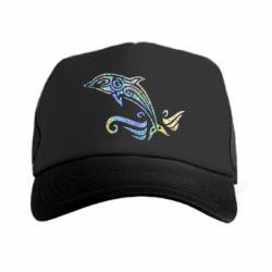 Кепка-тракер Dolphin tattoo
