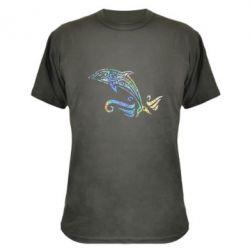 Камуфляжна футболка Dolphin tattoo