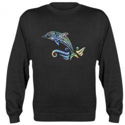 Реглан (світшот) Dolphin tattoo