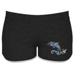 Жіночі шорти Dolphin tattoo