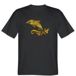 Чоловіча футболка Dolphin tattoo