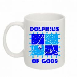 Кружка 320ml Dolphins of god - FatLine