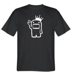 Мужская футболка Домо Кун с короной - FatLine