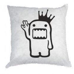 Подушка Домо Кун с короной - FatLine