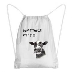 Рюкзак-мішок Don`t touch my tits