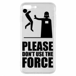 """Чехол для iPhone 8 Plus """"Don't use the forse"""""""