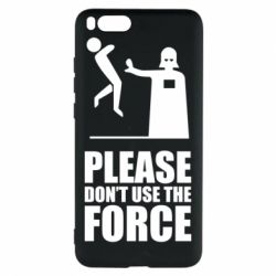 "Чехол для Xiaomi Mi Note 3 ""Don't use the forse"""