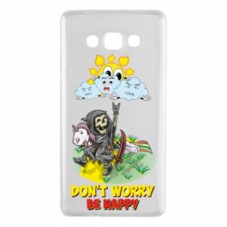 Чохол для Samsung A7 2015 Don't worry be happy