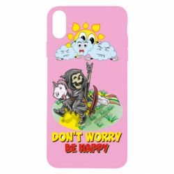 Чохол для iPhone X/Xs Don't worry be happy
