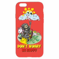 Чохол для iPhone 6/6S Don't worry be happy