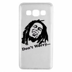 Чехол для Samsung A3 2015 Don't Worry (Bob Marley)