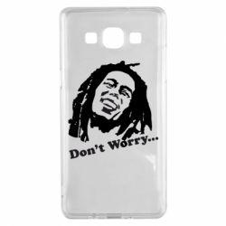 Чехол для Samsung A5 2015 Don't Worry (Bob Marley)