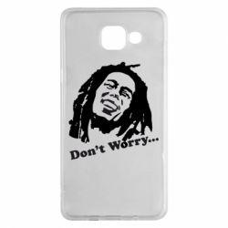 Чехол для Samsung A5 2016 Don't Worry (Bob Marley)