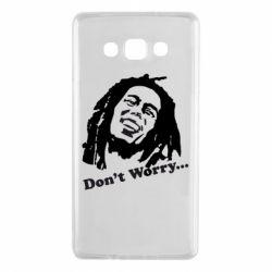 Чехол для Samsung A7 2015 Don't Worry (Bob Marley)