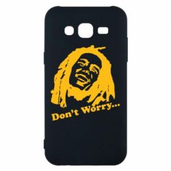 Чехол для Samsung J5 2015 Don't Worry (Bob Marley)
