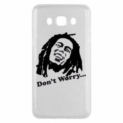 Чехол для Samsung J5 2016 Don't Worry (Bob Marley)