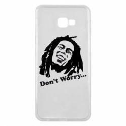 Чехол для Samsung J4 Plus 2018 Don't Worry (Bob Marley)