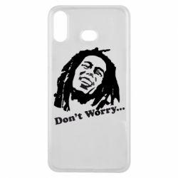 Чехол для Samsung A6s Don't Worry (Bob Marley)