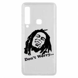 Чехол для Samsung A9 2018 Don't Worry (Bob Marley)