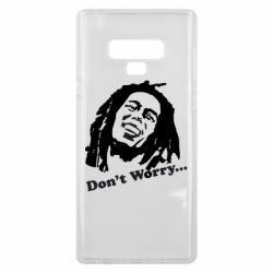Чехол для Samsung Note 9 Don't Worry (Bob Marley)