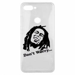 Чехол для Xiaomi Mi8 Lite Don't Worry (Bob Marley)