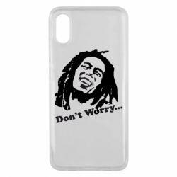 Чехол для Xiaomi Mi8 Pro Don't Worry (Bob Marley)