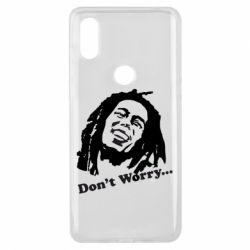 Чехол для Xiaomi Mi Mix 3 Don't Worry (Bob Marley)