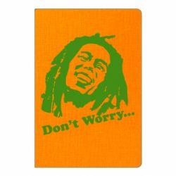 Блокнот А5 Don't Worry (Bob Marley)