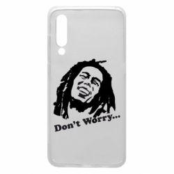 Чехол для Xiaomi Mi9 Don't Worry (Bob Marley)