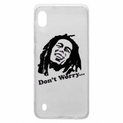 Чехол для Samsung A10 Don't Worry (Bob Marley)