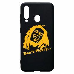 Чехол для Samsung A60 Don't Worry (Bob Marley)
