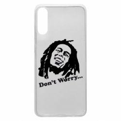 Чехол для Samsung A70 Don't Worry (Bob Marley)