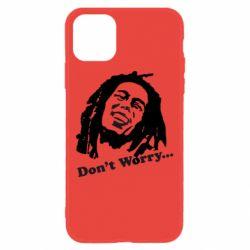 Чехол для iPhone 11 Don't Worry (Bob Marley)