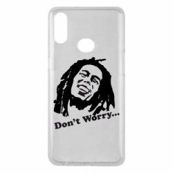 Чехол для Samsung A10s Don't Worry (Bob Marley)