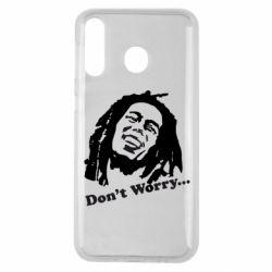 Чехол для Samsung M30 Don't Worry (Bob Marley)