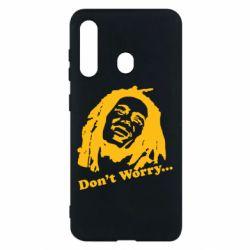 Чехол для Samsung M40 Don't Worry (Bob Marley)