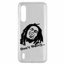 Чехол для Xiaomi Mi9 Lite Don't Worry (Bob Marley)