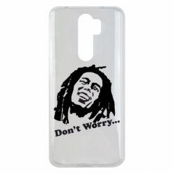Чехол для Xiaomi Redmi Note 8 Pro Don't Worry (Bob Marley)