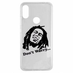 Чехол для Xiaomi Redmi Note 7 Don't Worry (Bob Marley)