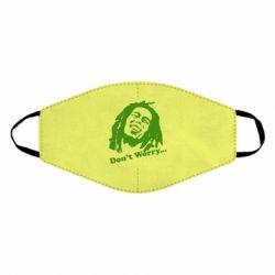 Маска для лица Don't Worry (Bob Marley)