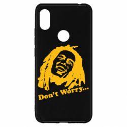 Чехол для Xiaomi Redmi S2 Don't Worry (Bob Marley)