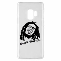 Чехол для Samsung S9 Don't Worry (Bob Marley)