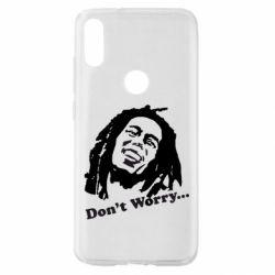 Чехол для Xiaomi Mi Play Don't Worry (Bob Marley)