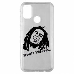 Чехол для Samsung M30s Don't Worry (Bob Marley)