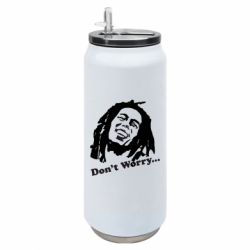 Термобанка 500ml Don't Worry (Bob Marley)