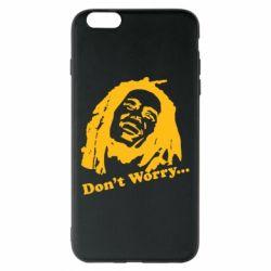 Чехол для iPhone 6 Plus/6S Plus Don't Worry (Bob Marley)