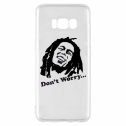 Чехол для Samsung S8 Don't Worry (Bob Marley)