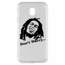 Чехол для Samsung J3 2017 Don't Worry (Bob Marley)