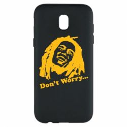 Чехол для Samsung J5 2017 Don't Worry (Bob Marley)