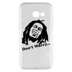 Чехол для Samsung A3 2017 Don't Worry (Bob Marley)